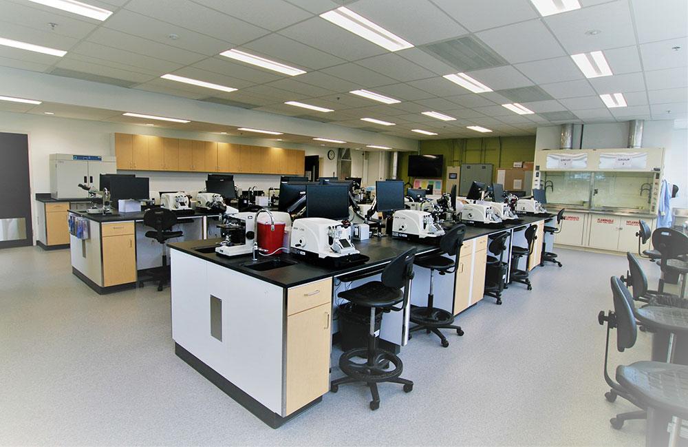 BCIT Histology and Microscopic Anatomy Lab Art Cader Architect Inc